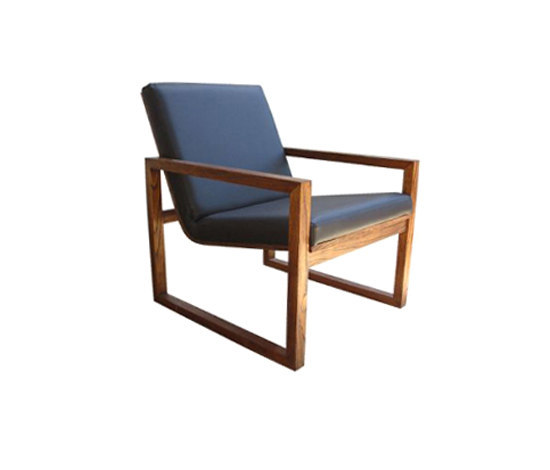 Imbox armchair by Schuster