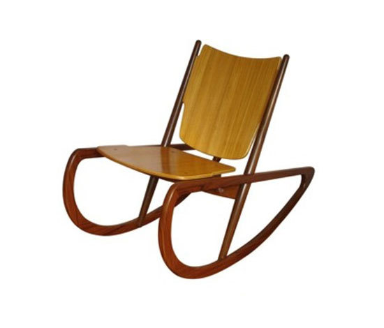 Mäder Rocking Chair de Mendes-Hirth