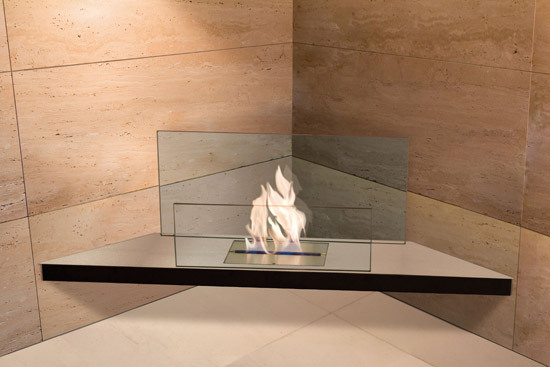wall flame I de Radius Design