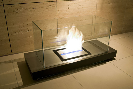 floor flame by Radius Design