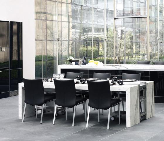 tavoli da pranzo tavoli dining desk poggenpohl 7100. Black Bedroom Furniture Sets. Home Design Ideas
