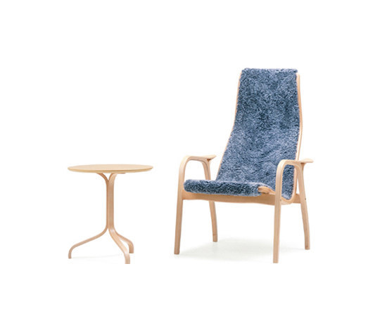 Lamino easy chair with footstool by Swedese