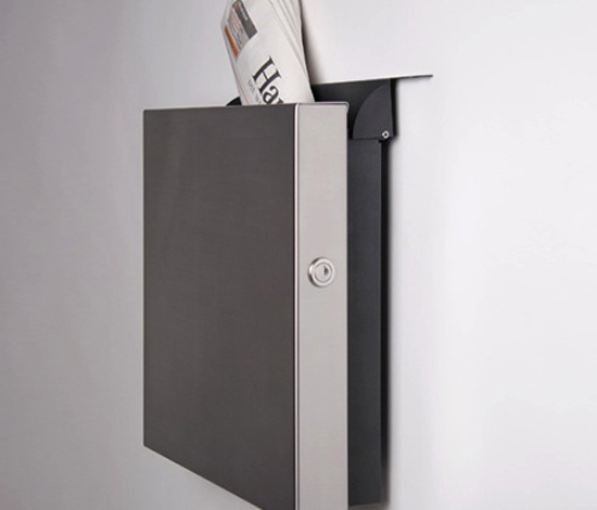 Square newspaper slot by Serafini