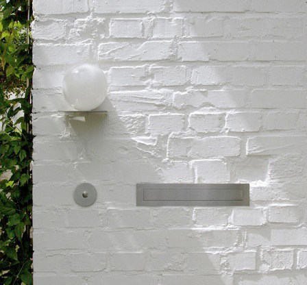 Doorbell panel | stainless steel by Serafini