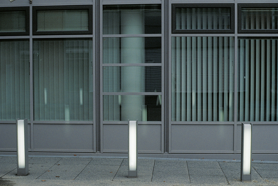 Ferrara Illuminating bollard by Hess