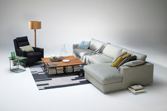 Fabio sofa/chaise longue de Linteloo
