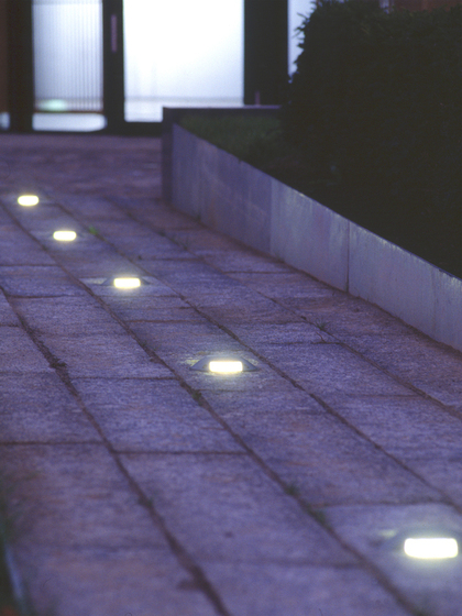 Pescara 1,5t HP In-ground luminaire by Hess