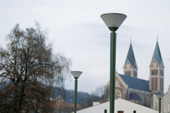 Parma Illuminating bollard by Hess