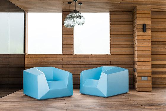 FX10 Lounge Chair Outdoor di Neue Wiener Werkstätte