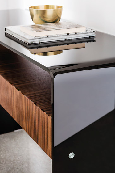 Bridge with drawer & shelf by Sovet