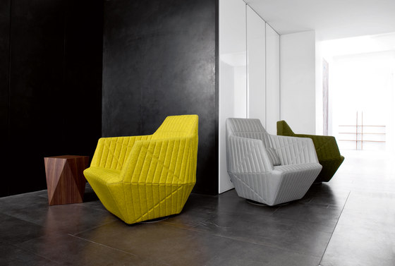 Facett | Large Footrest by Ligne Roset