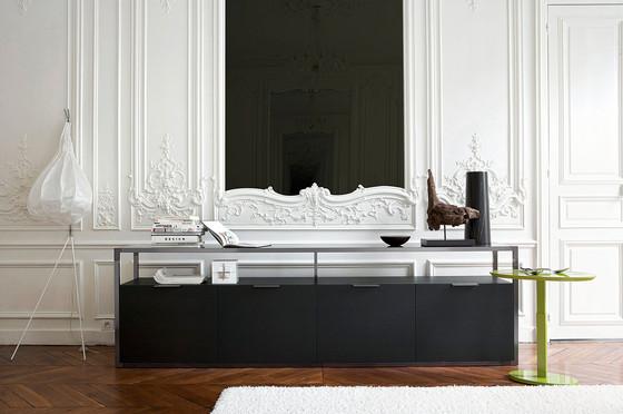 dedicato de ligne roset bahut bout de canap table. Black Bedroom Furniture Sets. Home Design Ideas