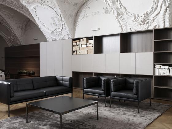 Atrium Sofa by Neue Wiener Werkstätte