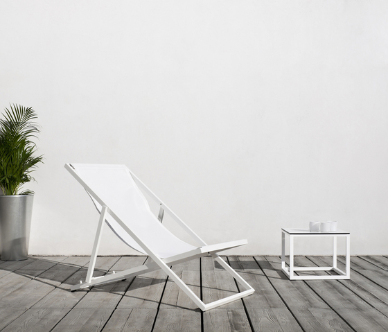 Club deckchair by Bivaq