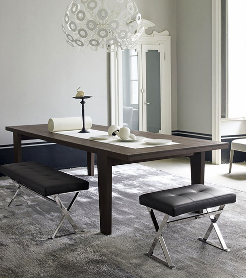 omero dining tables from maxalto architonic. Black Bedroom Furniture Sets. Home Design Ideas
