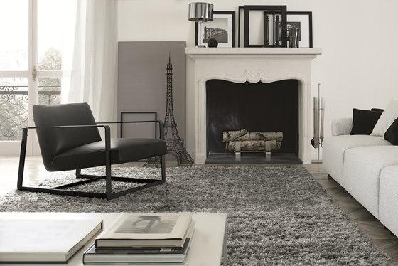 Gaston armchair by Poliform