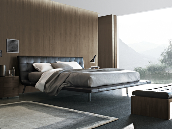 Onda bed by Poliform