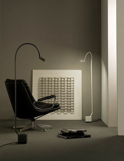 Mamba p Floor lamp by Metalarte