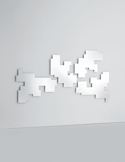 Space Invaders Mirror de Glas Italia