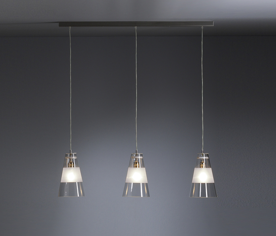 DS HLWS 03/3 pendant lamp by Tecnolumen