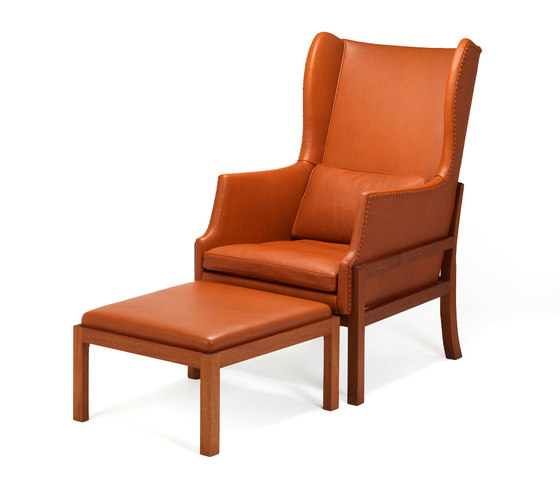 Wing Back Chair 50 von Carl Hansen & Søn