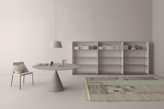 Fill bookcase system by Desalto