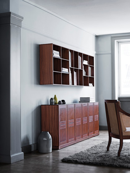 Mogens Koch CD/DVD bookcase by Carl Hansen & Søn