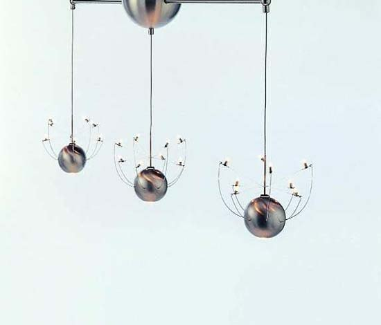 Orkje suspended lamp by Quasar