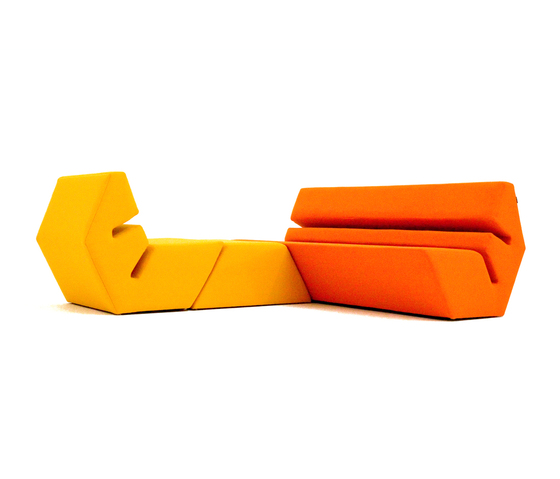 Evo Sofa by Nolen Niu