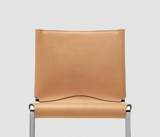 Bikappa Chair leather by Kristalia