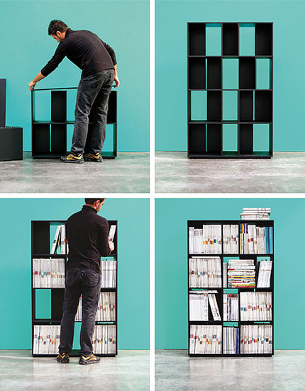 915 Bookcase by Kristalia