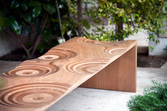 Ripples bench by HORM.IT