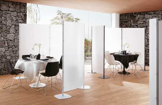 Arianna screen wall by Caimi Brevetti