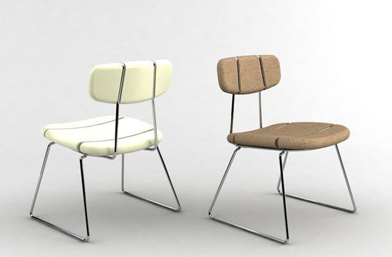 Corky Chair [Prototype] by Antoine Phelouzat Design Studio