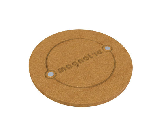 Round Cork Mat by Cork Nature