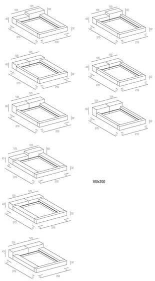 Extra Wall Bed de Living Divani