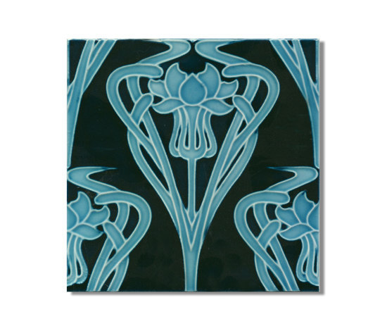 Art Nouveau wall tile F69.V1 by Golem GmbH