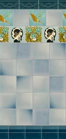 Art Nouveau wall tile F46.V2 by Golem GmbH