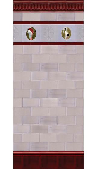 Art Nouveau wall tile F47c di Golem GmbH