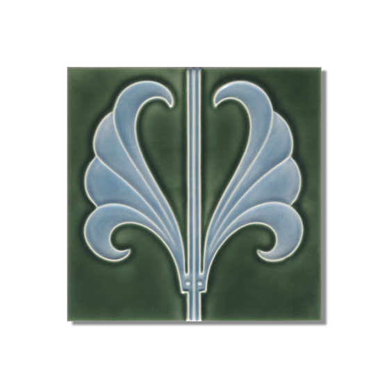 Art Nouveau wall tile F53c.V2 by Golem GmbH
