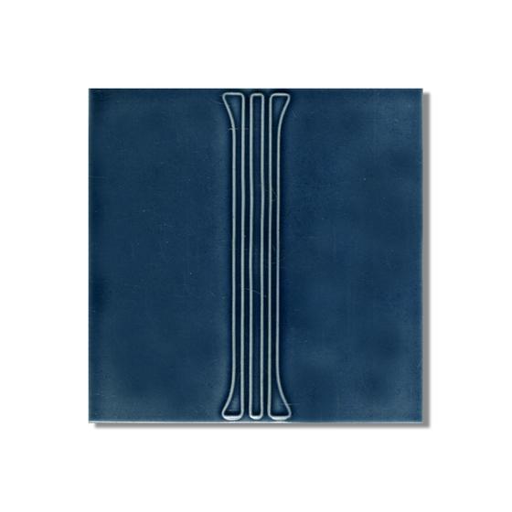 Art Nouveau wall tile F30b di Golem GmbH