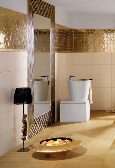 Gold Floor echtgold 30x30 von steuler|design