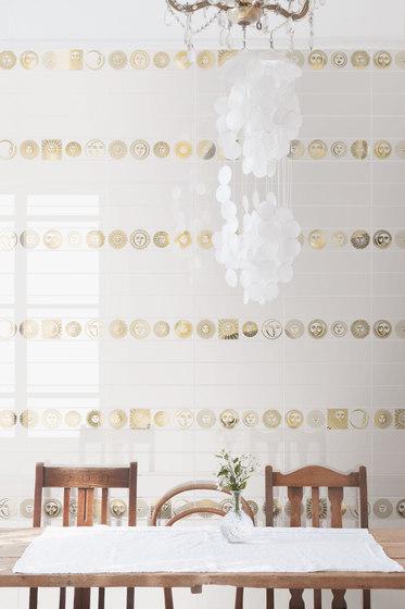 Soli e Lune Platino 2B di Ceramica Bardelli