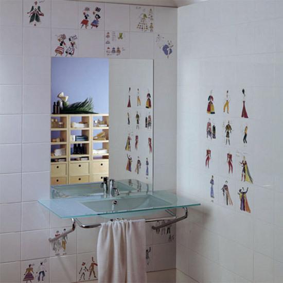 Costumi di ceramica bardelli 20x20cm prodotto - Piastrelle gio ponti ...