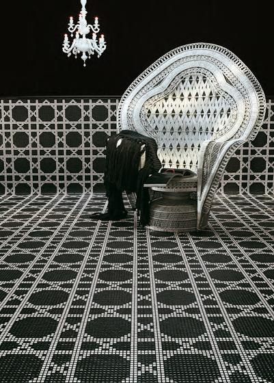 Vienna Marrone mosaic di Bisazza