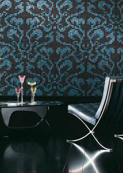Damasco Black mosaic de Bisazza