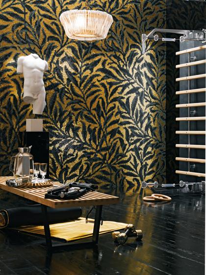 Morris Oro Giallo mosaic von Bisazza