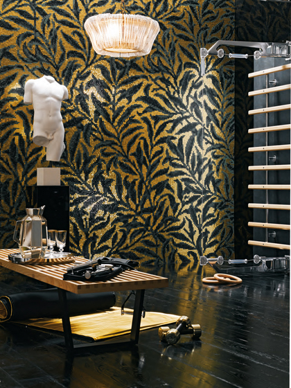 Morris Oro Giallo mosaic de Bisazza
