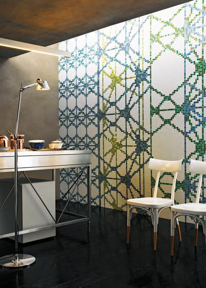 Treillage C mosaic by Bisazza
