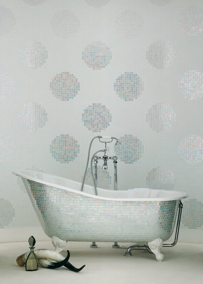 Pois Oro mosaic by Bisazza